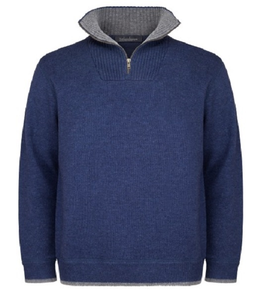 A227 Zip Neck Pull Over