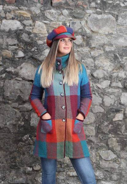Emma Coat - Donegal Red