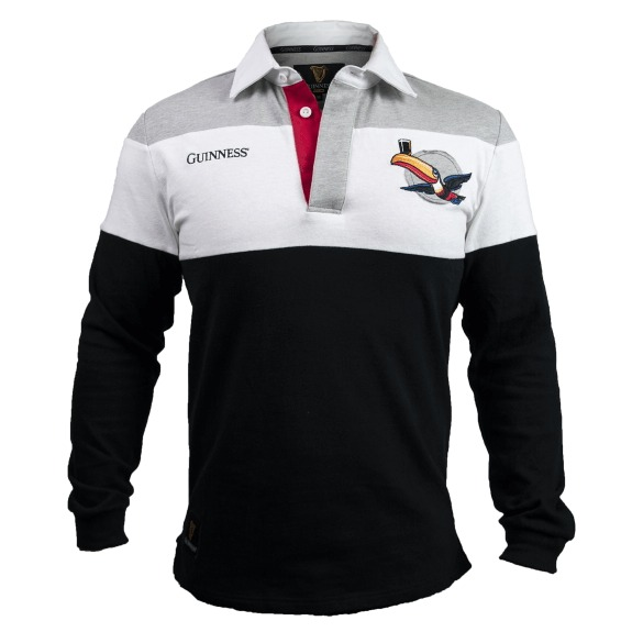 Guinness Toucan Rugby Shirt