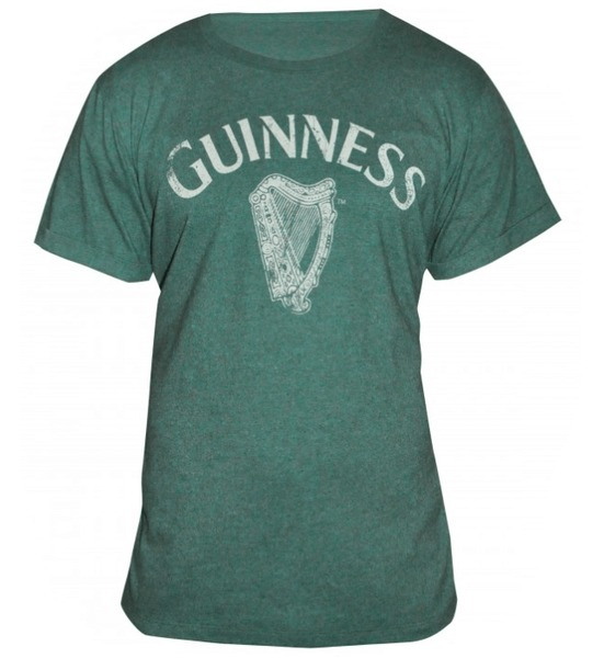 Guinness T-Shirt - Heathered Harp