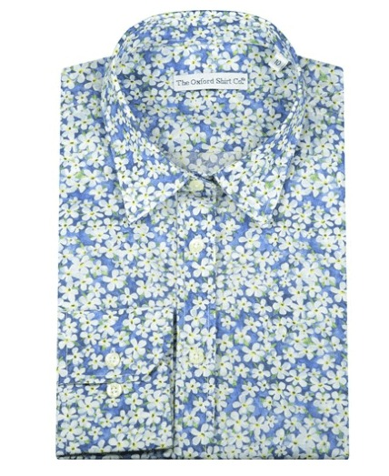 Liberty Shirt  - Petal Wish Blue