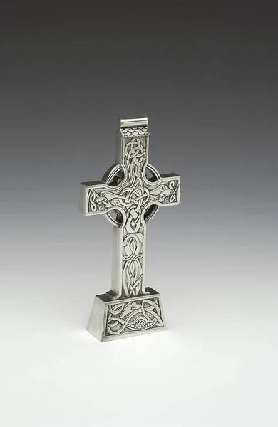 Standing Pewter Cross