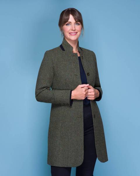 Pamela Tweed Coat