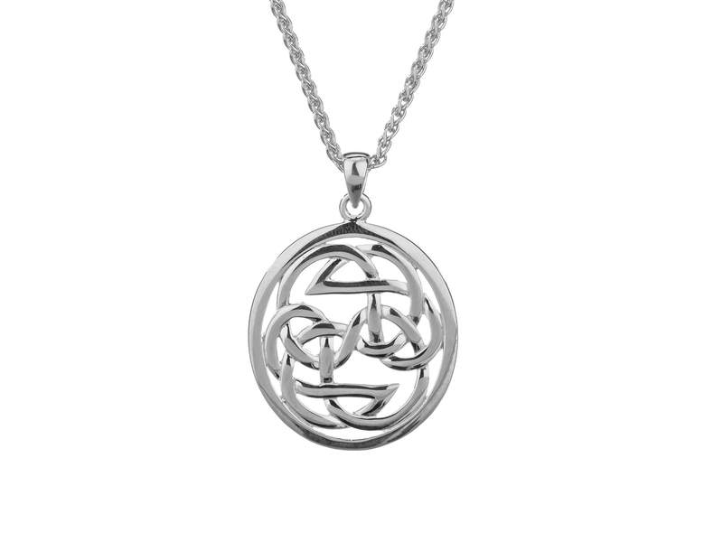 Silver Path of Life Pendant