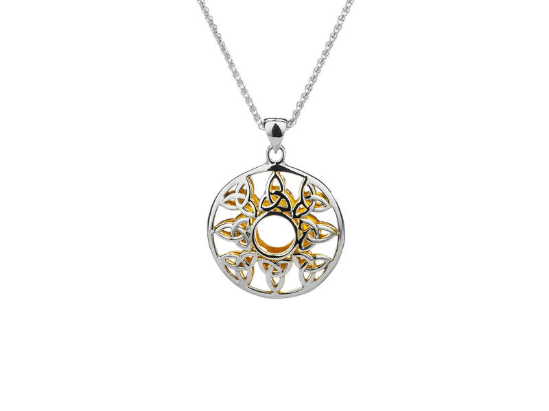 Trinity Window to the Soul Pendant -PPX4804