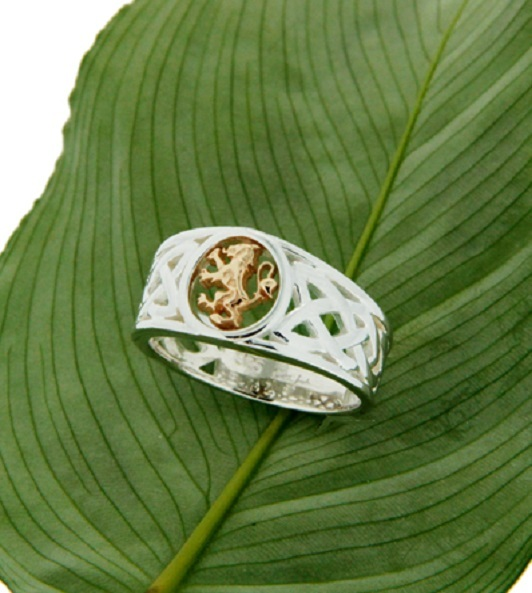 SALE - Scottish Rampant Lion Ring