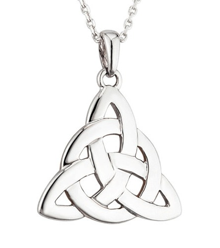 Trinity Knot Pendant -  Sterling Silver