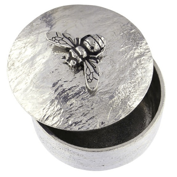 Pewter Trinket Box - Bee