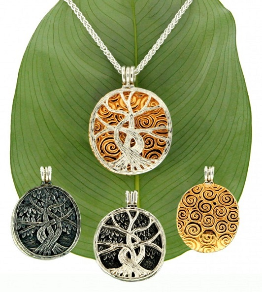 Tree of Life 4 Way Pendant