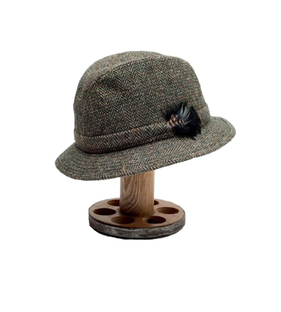 Tweed Country Hat