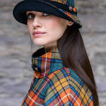 60 - Orange, Green & Blue Plaid