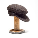 Wool Tweed Skipper Cap